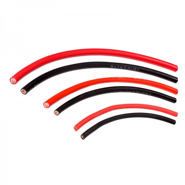 Гибкий медный кабель сечением 50 мм²