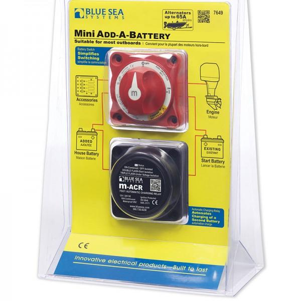Реле зарядки и ручной переключатель аккумуляторов на 65 А