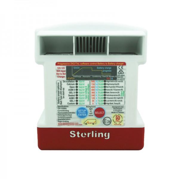 Зарядное устройство от генератора Sterling Power BB1230