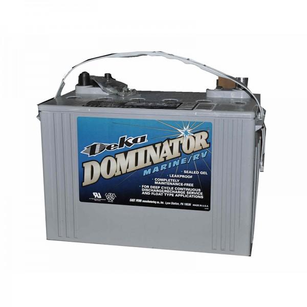 Тяговый гелевый аккумулятор для лодочного электромотора DEKA DOMINATOR 8G24