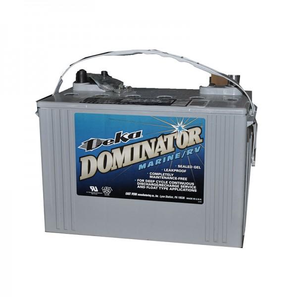 Тяговый гелевый аккумулятор для лодочного электромотора DEKA DOMINATOR 8G27