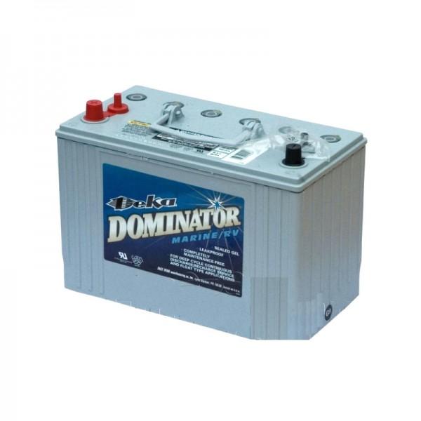 Тяговый гелевый аккумулятор для лодочного электромотора DEKA DOMINATOR 8G31DT