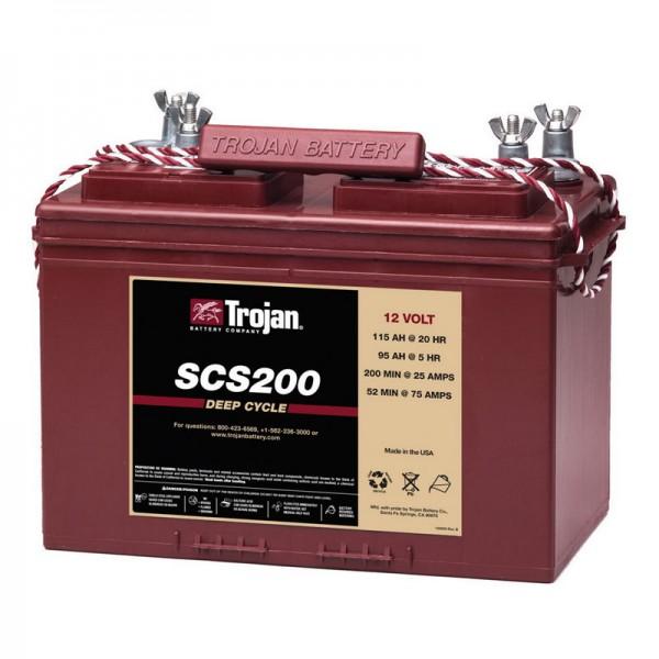 Тяговый аккумулятор для лодочного электромотора TROJAN SCS200