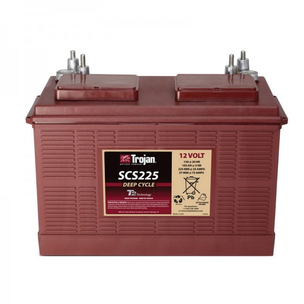Тяговый аккумулятор для лодочного электромотора TROJAN SCS225