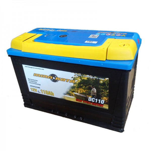 Тяговый аккумулятор для лодочного электромотора Minn Kota MK-SCS-110