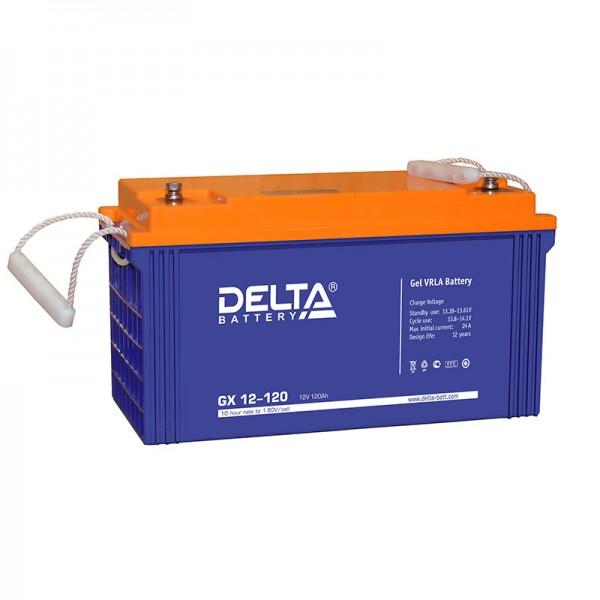 Гелевый аккумулятор для лодочного электромотора DELTA 12-120