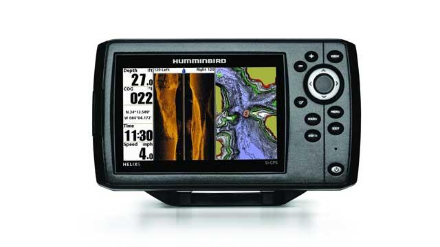 Эхолот картплоттер Humminbird Helix 5 SI GPS