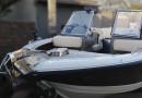 Электрическая якорная лебедка для катера