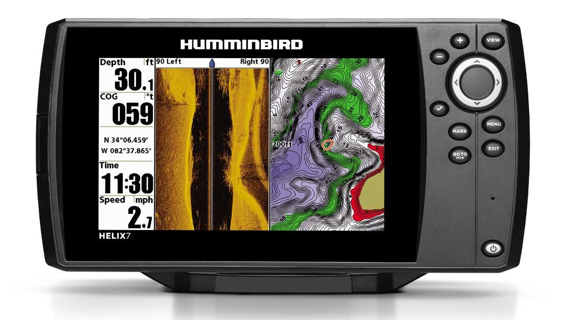 Эхолот Humminbird Helix 7 GPS