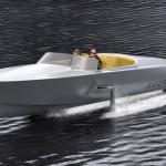 Скоростная лодка на электродвигателе