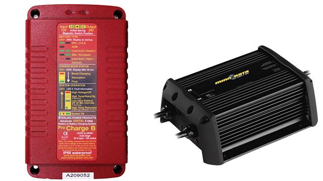 Зарядные устройства minn-kota и sterling power