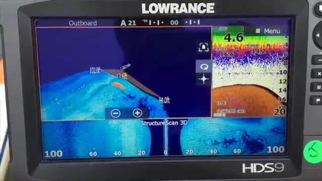 3D сканер обнаружил рыбу, а два других сонара нет