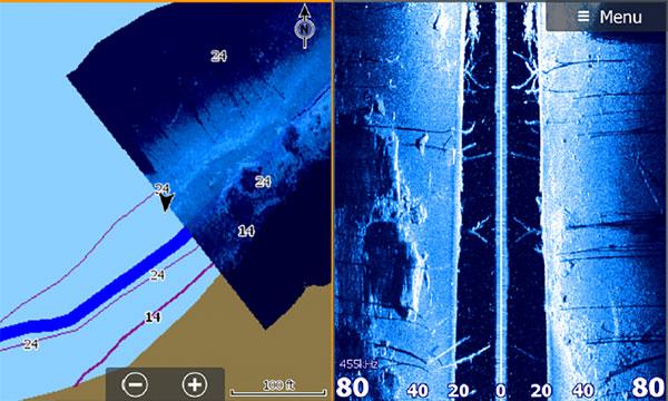 Совмещенные экраны бокового обзора и StructureMap