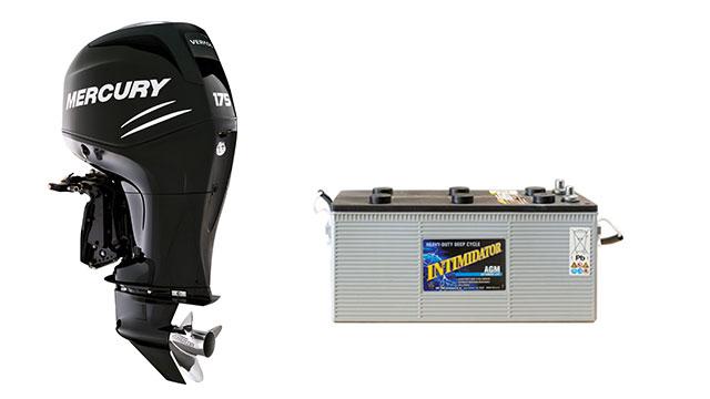Как выбрать аккумулятор для лодочного мотора