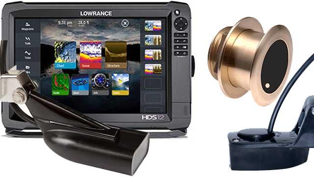 Эхолот Lowrance HDS с трансдьюсерами