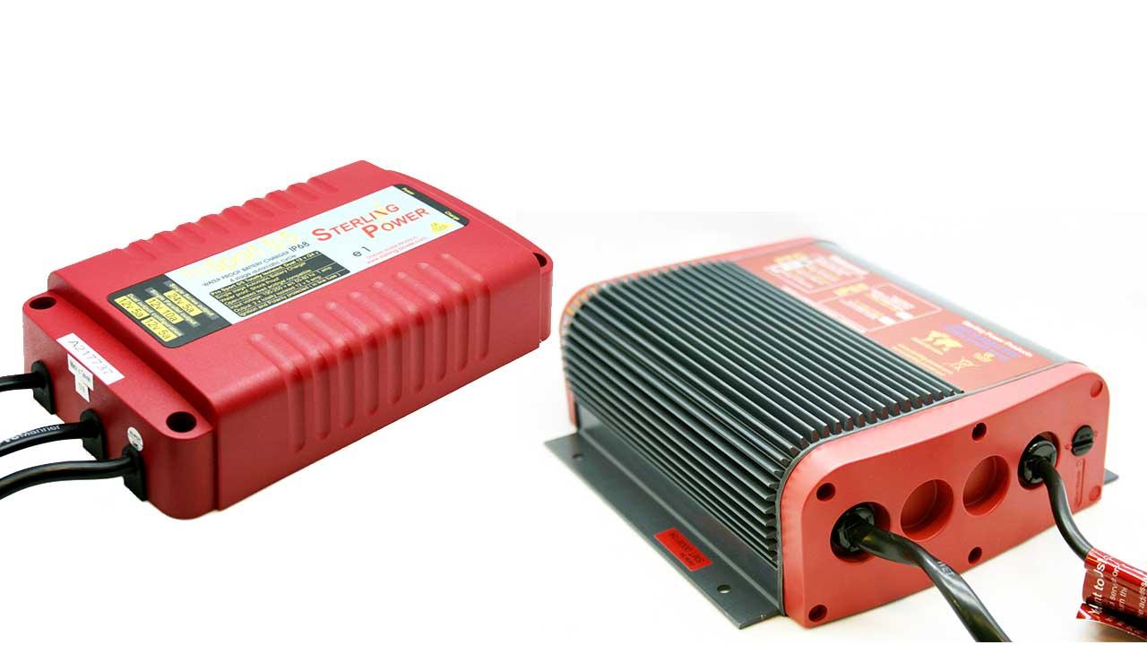 Зарядные устройства Sterling Power для тяговых аккумуляторов