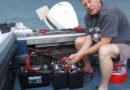 Зарядка аккумуляторов на катере