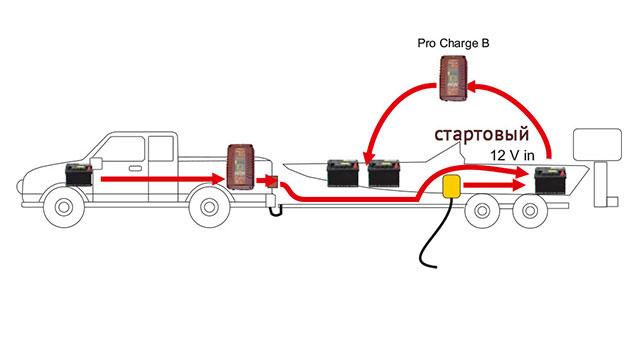 Схема подключения зарядного устройства для зарядки нескольких аккумуляторов