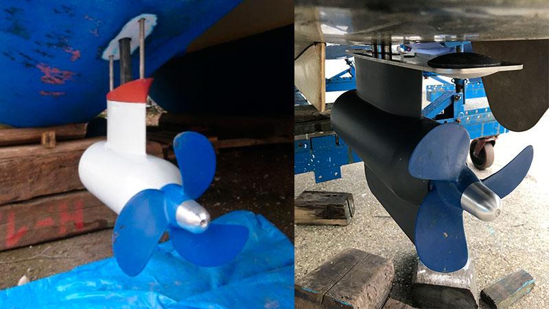 Pod электромоторы на лодках