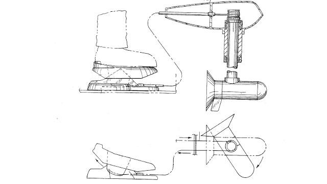 Схема работы электромотора с механическим управлением
