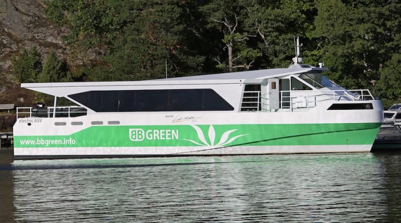 Самое быстрое пассажирское судно на электротяге BB GREEN