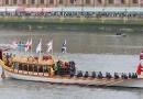 Электромотор Torqeedo на королевской яхте