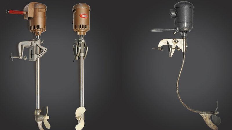 Первые электромоторы Minn Kota