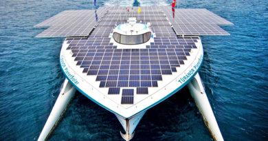 Солнечные батареи для яхты и катера