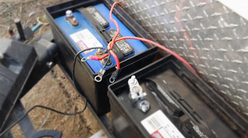 Зарядный изолятор аккумуляторов