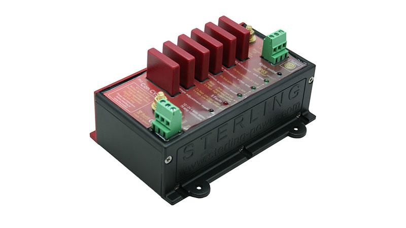 Реле развязки аккумуляторов с ограничением по току Sterling Power CVSR