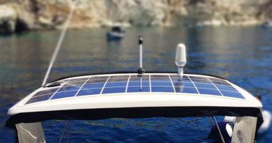 Гибкие солнечные панели для катеров и яхт