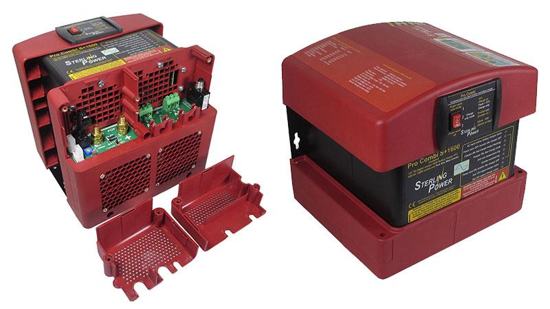 Комбинированная модель для яхты или катера инвертор/зарядное устройство Sterling Power Pro Combi S+