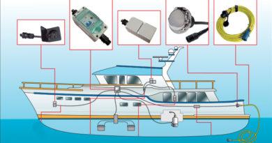 Подключение к береговому электричеству