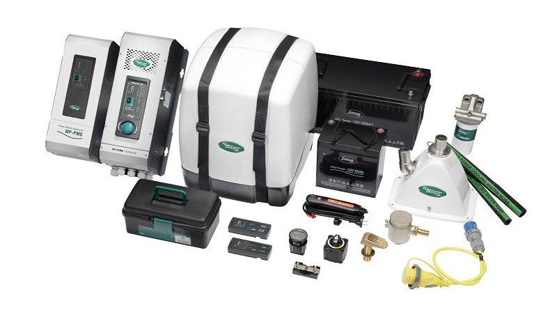Дизельный генератор для яхты и комплект оборудования для его установки