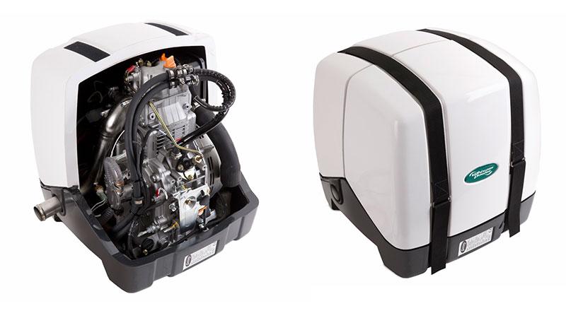 Дизельный генератор для катера или яхты Piccolo 5