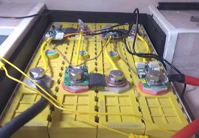 Тяговый литиевый аккумулятор на катере