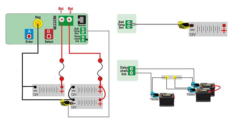 Зарядное устройство контролирует температуру аккумулятора