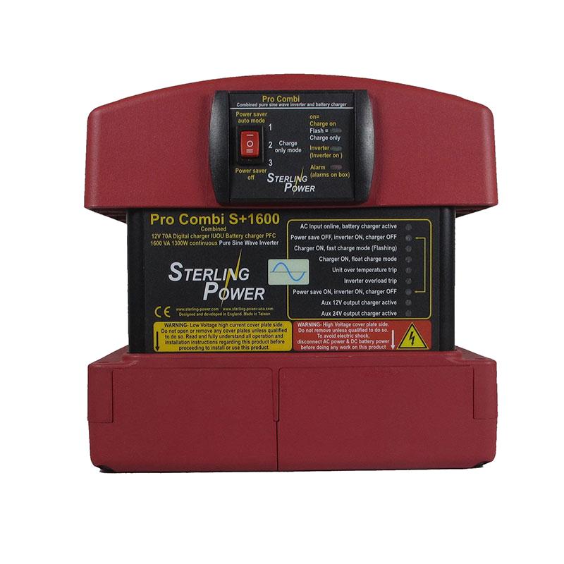 Инвертор-зарядное Sterling Power PSCR12-1600