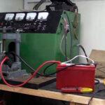 Стенд для зарядки LifePO4 аккумулятора автомобильным генератором