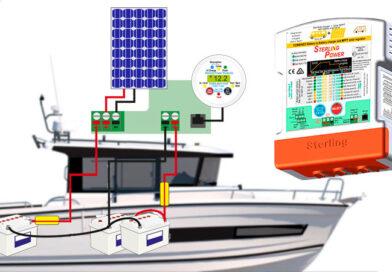 Универсальное зарядное устройство для катера