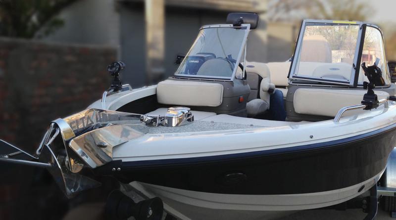 якорная лебедка на лодку крым